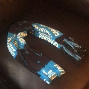 Carolina Panthers fleece scarf